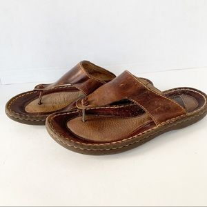 b. o. c. Leather Thong Sandals